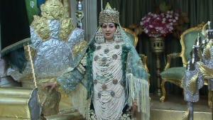 لباس عروسة من مدينة تلمسانية