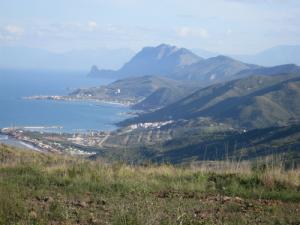 Vue sur Sakket jusqu'à Bejaia