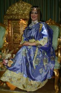 لباس عروسة شاوية