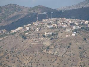 Vue aérienne de la commune de Bouhamza