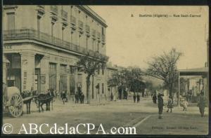 صورة قديمة من مدينة ڨالمة (الفترة الإستعمارية)