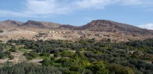 Paysage de Ain Zaatout (Wilaya de Biskra)