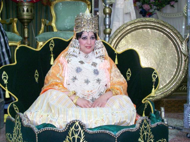 لباس عروسة من مدينة تلمسان