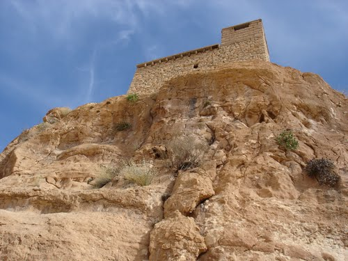 Bâtisse de l'aire coloniale à Biskra