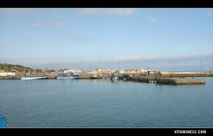 صورة من ميناء الصيد البحري بجوار شاطئ المرسى الصغير