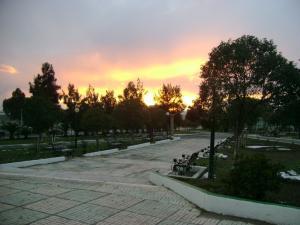 حديقة بلدية بوسلام بمدينة سطيف