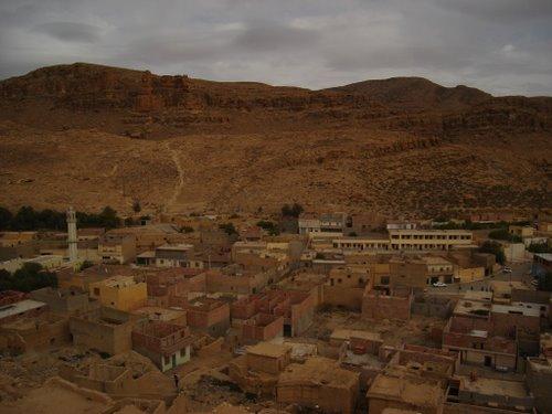 LA ville de Ain Zaatout à Biskra