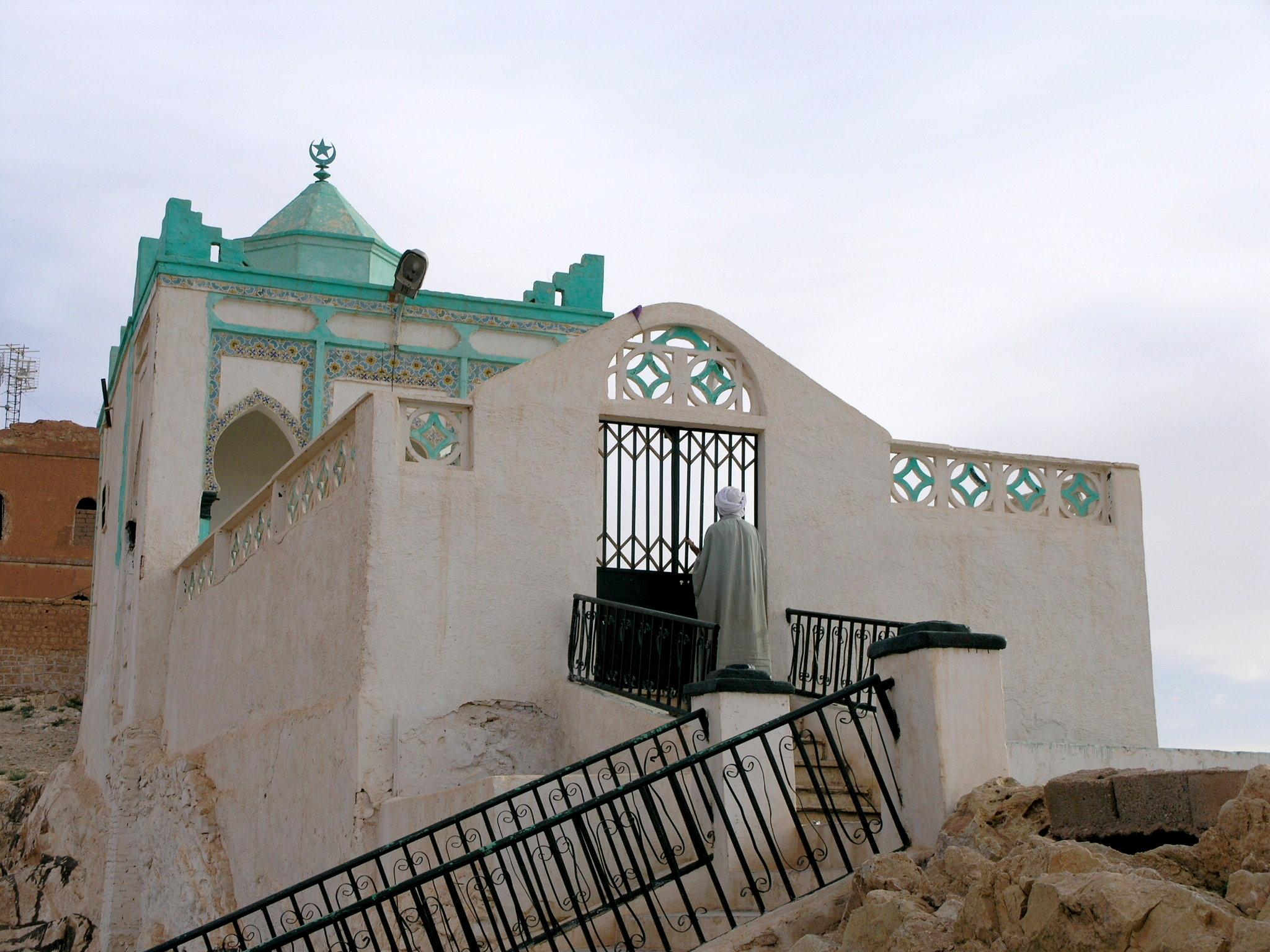 ضريح سيدي عيد القادر بضواحي مدينة الأغواط