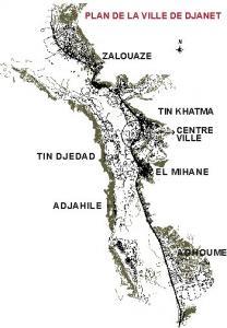 خريطة مدينة جانت