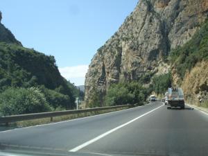 Sur la Route de Lakhdaria