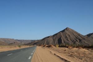 Sur la route de Tamanrasset