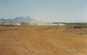 Rallye en direction de Tamanrasset