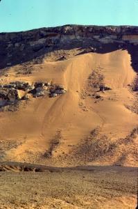 Ski sur sable à In Salah
