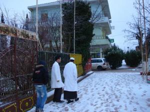 La neige sur Mahdia