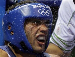 الملاكم الجزائري