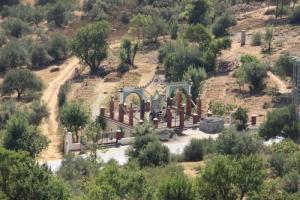 La Cimetière du village IBouyesfene (Commune de Bouzeguene)