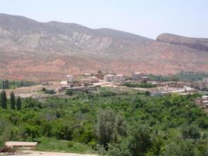 منظر من بلدية بوزينة