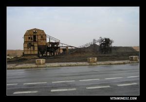 بقايا منجم الفحم ببلدية القنادسة