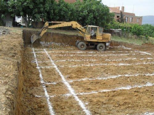 B timent algerie batiment et travaux publics photos for Fondation d une maison