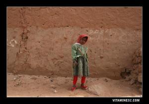 طفلة من قرية زاوية الشيخ