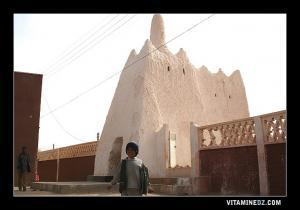 زاوية الشيخ المغيلي بجنوب مدينة أدرار