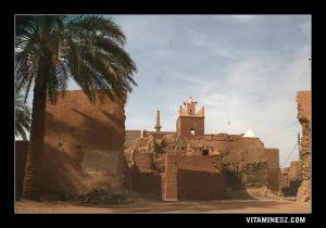آثار قصر بلدية تمنطيط