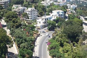 Une allée à Alger
