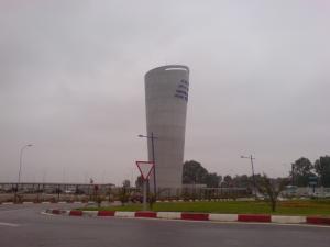 Entrée de l'Aéroport Houari Boumediene