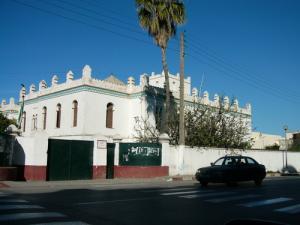 Entrée du Lycée Belkine (Alger)