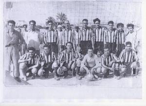 فريق كرة القدم لبلدية بطيوة في عهد الإستعمار