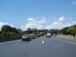 Autoroute menant aux communes de Hydra et Ben Aknoun (Wilaya d'Alger)