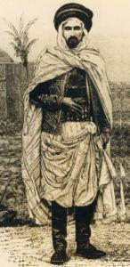 صورة للشيخ المجاهد محمد المقراني قائد ثورة 1871 ضد الإستعمار 1