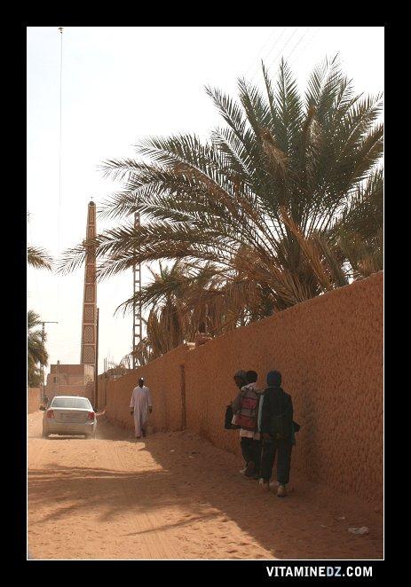 شوارع بلدية تمنطيط