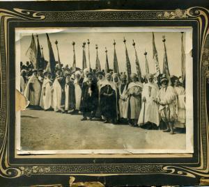 صورة قديمة لوعدة الجماعة الطيبية بالجزائر العاصمة (الفترة الإستعمارية)