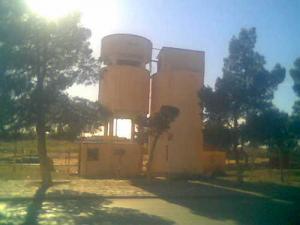 Le plus ancien château d'eau de la ville de Zaafrane