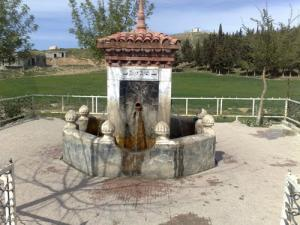 Nouvelle Fontaine de Faucigny dans la cite d'El Kharba