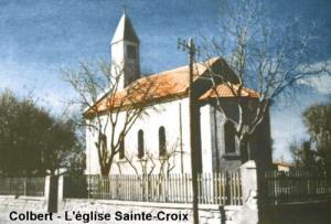 Photo d'une ancienne église à Sétif