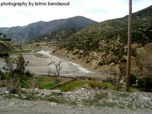 Oued Elbared (Vers le barrage de kherrata)