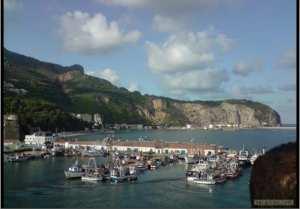 منظر من رحس بواق بساحل بجاية