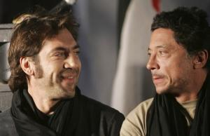 Spanish actor Javier Bardem (L) and his brother Carlos