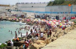 منظر من شاطئ بادوفاني (بلدية باب الواد)