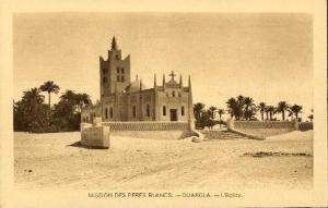 صورة للكنيسة القديمة (الفترة الإستعمارية)