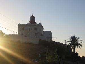 Grand Phare sur la côte de Jijel