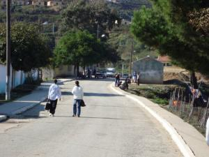 Une allée du village de Bordj T'har