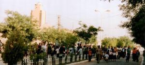 Devant la Mosquée de Maamora (Wilaya de Saida)