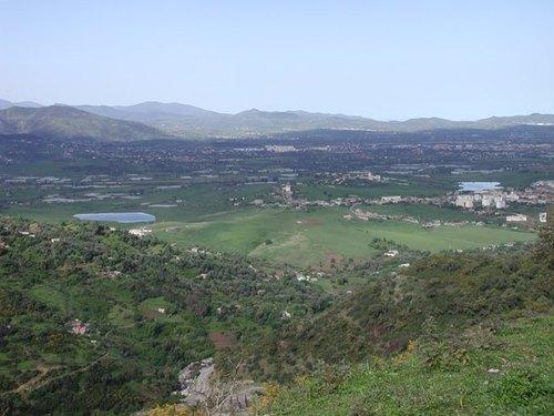 Plaine de Jijel (vue de Bordj T'har)