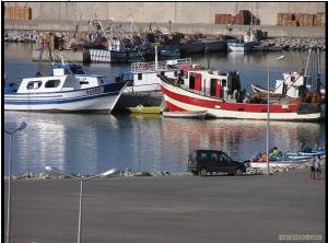 ميناء الصيد بولاية جيجل