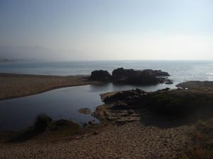 La belle plage de Oued Zhour