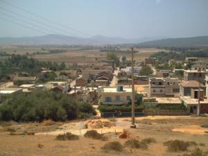 Vue sur la commune de Djendel Saadi Mohamed