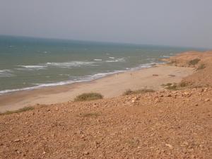 شاطئ الصخرة بمستغانم